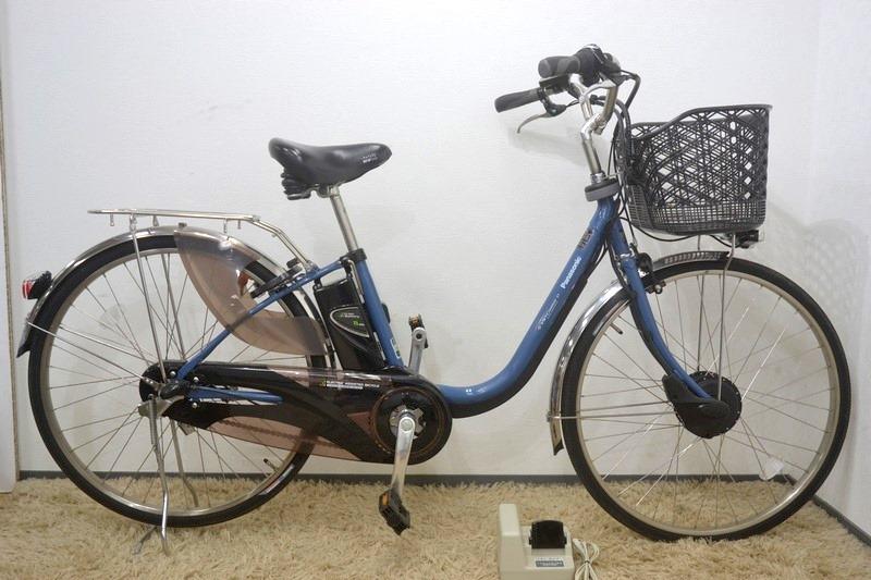 極美品 Panasonic パナソニック ビビチャージ・D 電動アシスト自転車