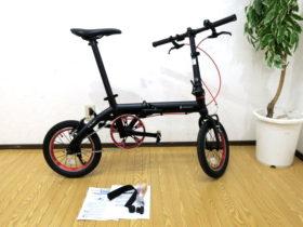 RENAULT/ルノー ウルトラライト7 ULTRA LIGHT7 ブラック 折り畳み自転車